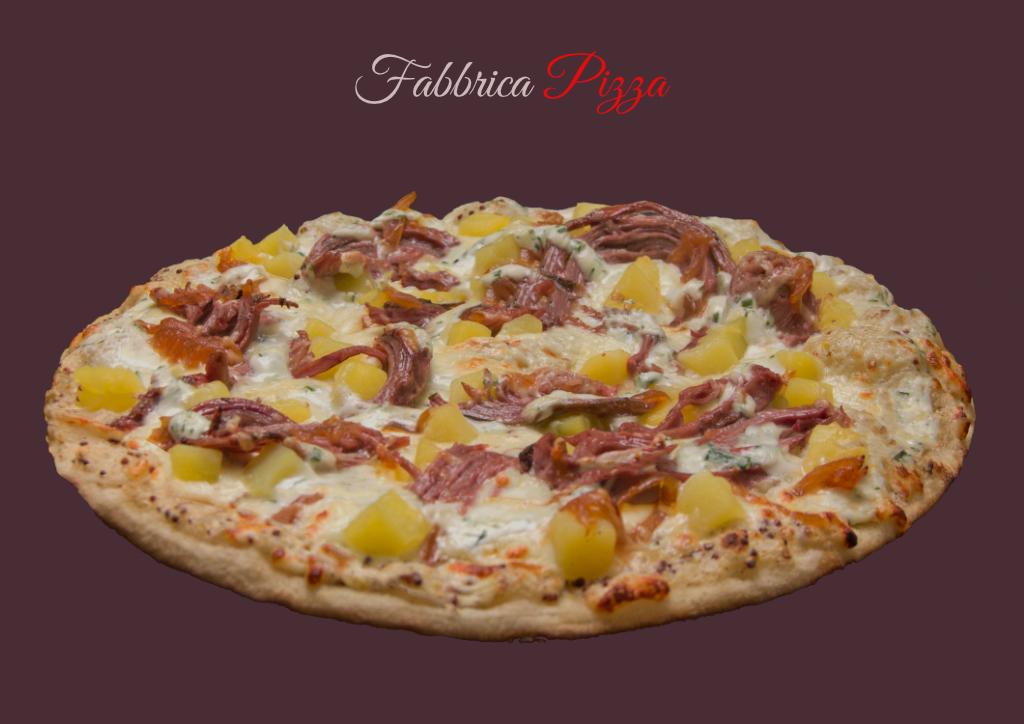 pizza andouille de guemene